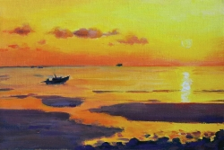 Захід сонця на о. Самуї